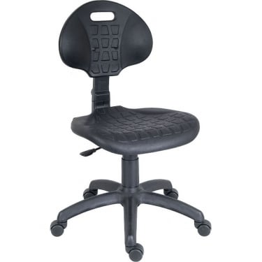 Labour Black Chair with Nylon Base