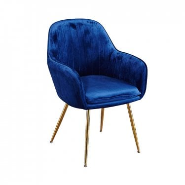 Lara Royal Blue Dining Chair