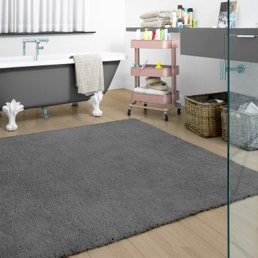 Large Burst Dark Grey Rug 230x160cm (71151-100-160230)