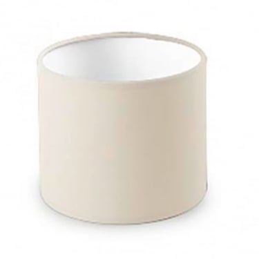 LEDS C4 Decorative Beige Small Round Fabric Shade (PAN-175-BY)