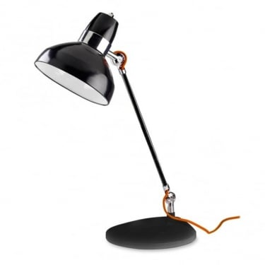 LEDS C4 Decorative Flex Black Table Lamp (10-1530-21-05)