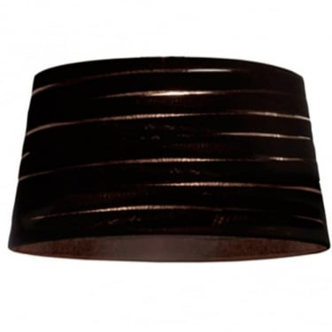 LEDS C4 Decorative Magma Black Large Fabric Shade (PAN-164-05)