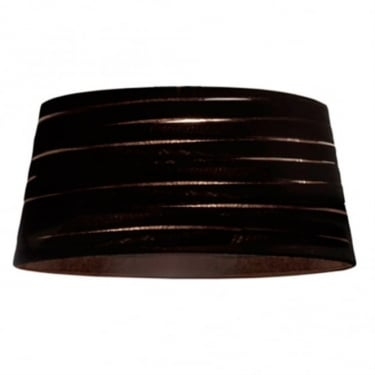 LEDS C4 Decorative Magma Black Small Fabric Shade (PAN-163-05)