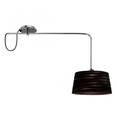 LEDS C4 Decorative Magma Steel Chrome Pendant Light (00-0264-21-82)