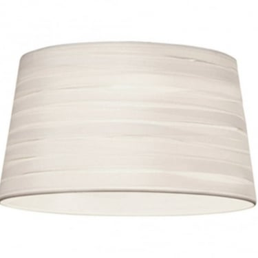 LEDS C4 Decorative Magma White Large Fabric Shade (PAN-164-14)
