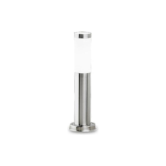 Alex Pedestal Light: LEDS C4 Electra 8790 Stainless Steel Outdoor Pedestal