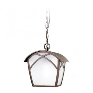 LEDS C4 Outdoor Alba Injected Aluminium Oxide Brown Pendant Light (00-9350-18-AA)