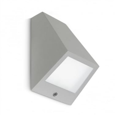 LEDS C4 Outdoor Angle Grey Wall Light (05-9836-34-CL)