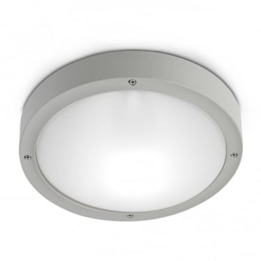 LEDS C4 Outdoor Basic Grey Outdoor Ceiling Light (15-9835-34-M1)