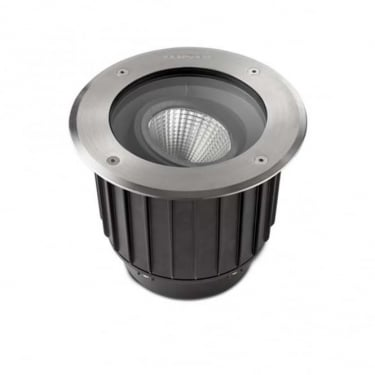 LEDS C4 Outdoor Gea Stainless Steel Aisi316 Polished Recessed Uplight Light (55-9906-CA-CM)