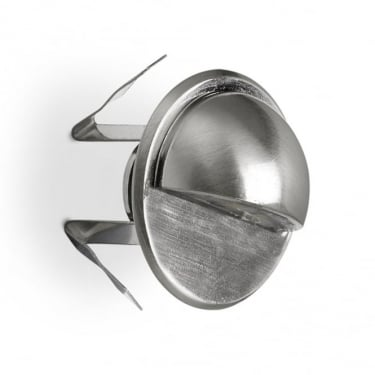 LEDS C4 Outdoor Gea Stainless Steel Aisi316 Polished Recessed Wall Light (55-9864-CA-CL)