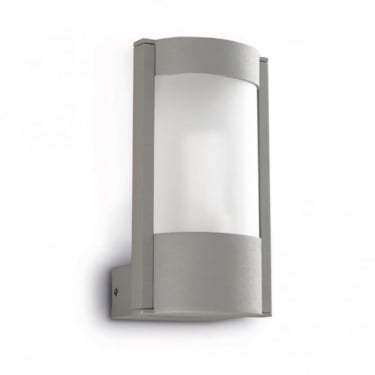 LEDS C4 Outdoor Hebe Injected Aluminium Grey Wall Light (05-9238-34-M3)