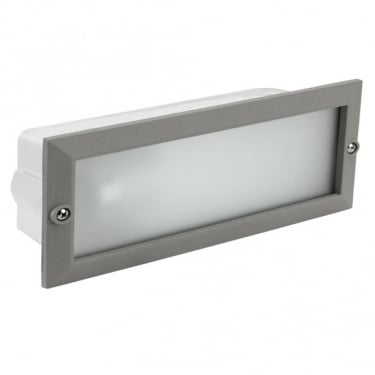 LEDS C4 Outdoor Hercules Grey Outdoor Recessed Wall Light (05-8961-34-B8)