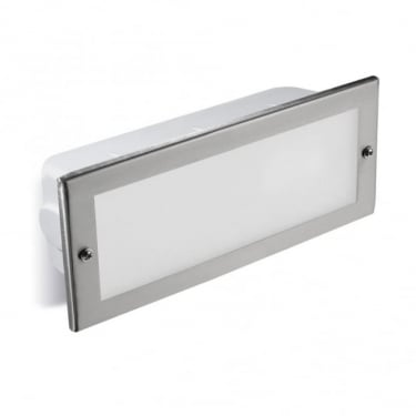 LEDS C4 Outdoor Hercules Stainless Steel Aisi316 Polished Recessed Wall Light (05-9211-CA-T2)