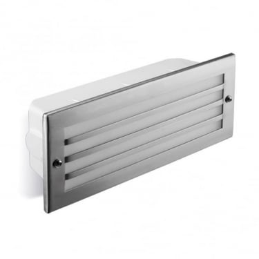 LEDS C4 Outdoor Hercules Stainless Steel Aisi316 Polished Recessed Wall Light (05-9212-CA-T2)