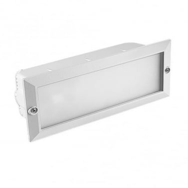 LEDS C4 Outdoor Hercules White Recessed Wall Light (05-8961-14-B8)