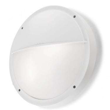LEDS C4 Outdoor Opal Polycarbonate White Wall Light (05-9677-14-M1)