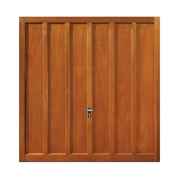Whitewell timber up over garage door chestnut finish for Garage door finishes