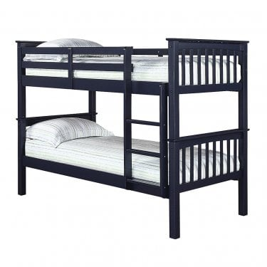 Leo Navy Blue 3'0 Bunk Bed