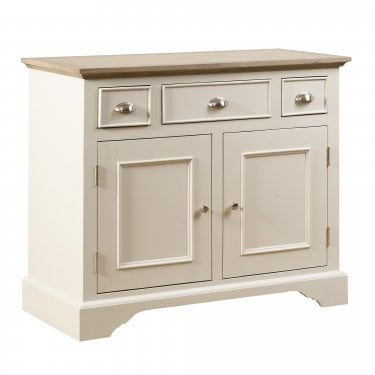 Lily Cashew Cream Painted Small Sideboard