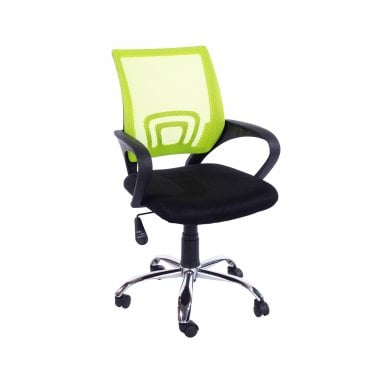 Loft Home Office Black & Lime Green Office Chair