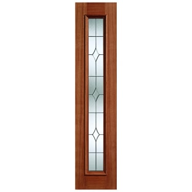 LPD Doors External Hardwood Universal Sidelight with Leaded Glass