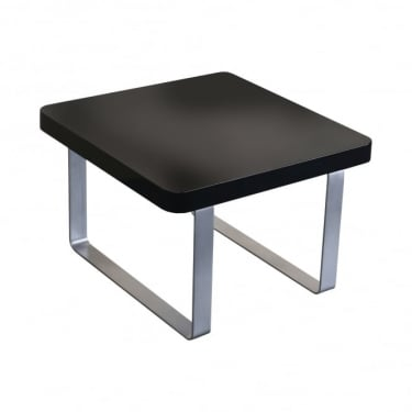LPD Furniture Accent Black High Gloss End/Lamp Table