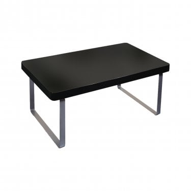 LPD Furniture Accent High Gloss Black Coffee Table (ACCCOFBLA)
