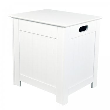 LPD Furniture Alaska White Laundry Box (ALASKALAUND)