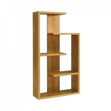 LPD Furniture Alberta Oak Display Unit (ALBERTA)