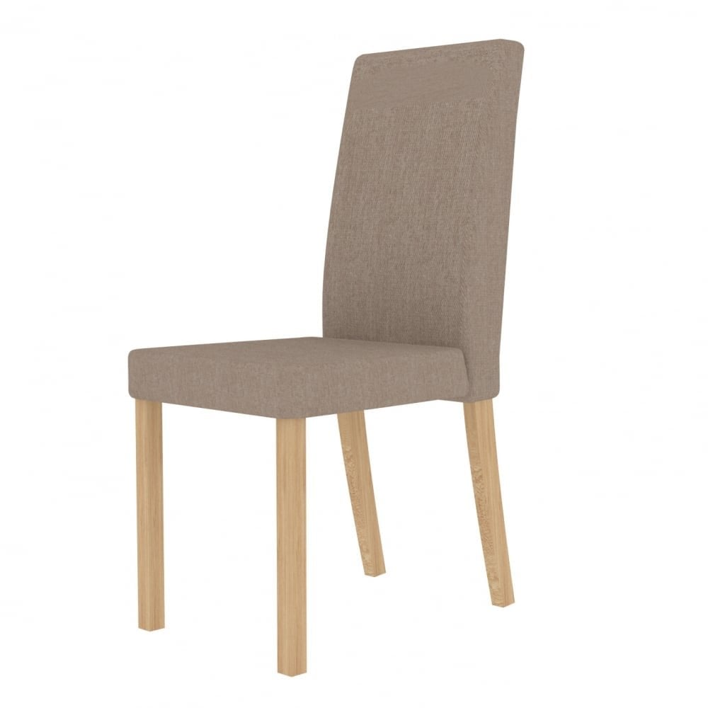 Anna Beige Dining Chair Pair