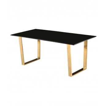Lpd furniture antibes black lamp table leader stores lpd furniture antibes high gloss black dining table with polished gold legs aloadofball Gallery