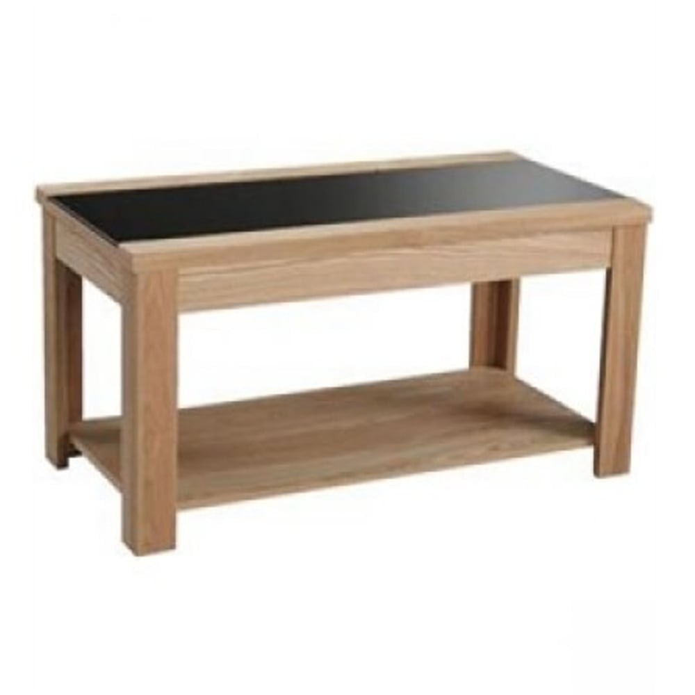 Lpd Furniture Accent White Coffee Table: LPD Furniture Ashleigh Ash & Black Coffee Table