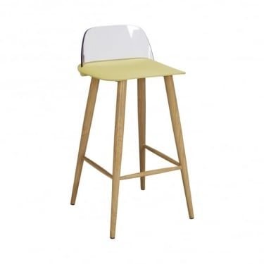 LPD Furniture Chelsea Lime Bar Stool (Pair)