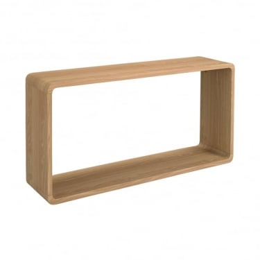 LPD Furniture Curve Oak Wall Unit (CURVEWALL)