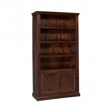 LPD Furniture Darjeeling Sheesham Bookcase
