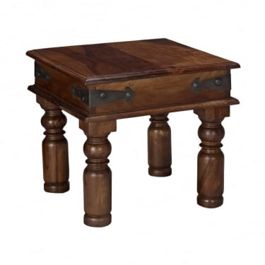LPD Furniture Darjeeling Sheesham Lamp Table