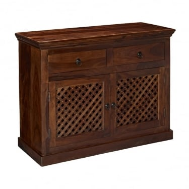 LPD Furniture Darjeeling Sheesham Small Sideboard