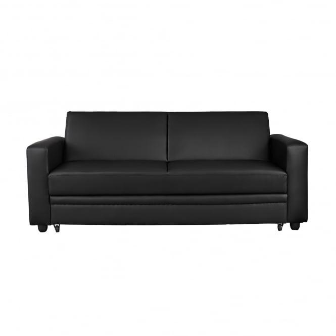 Lpd Furniture Detroit Black Storage Sofa Bed Leader Stores