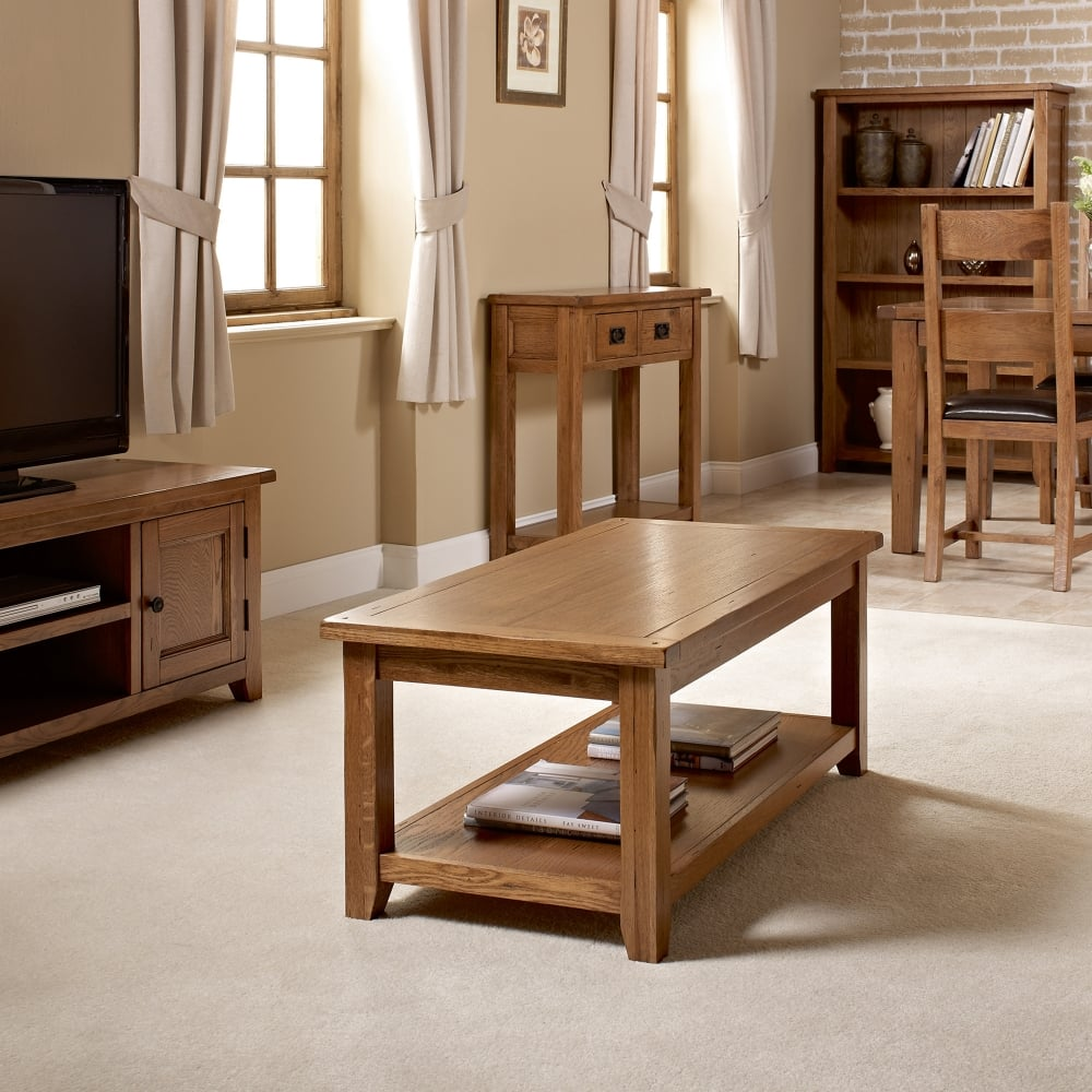 Lpd Furniture Accent White Coffee Table: LPD Furniture Dorset White Oak Coffee Table