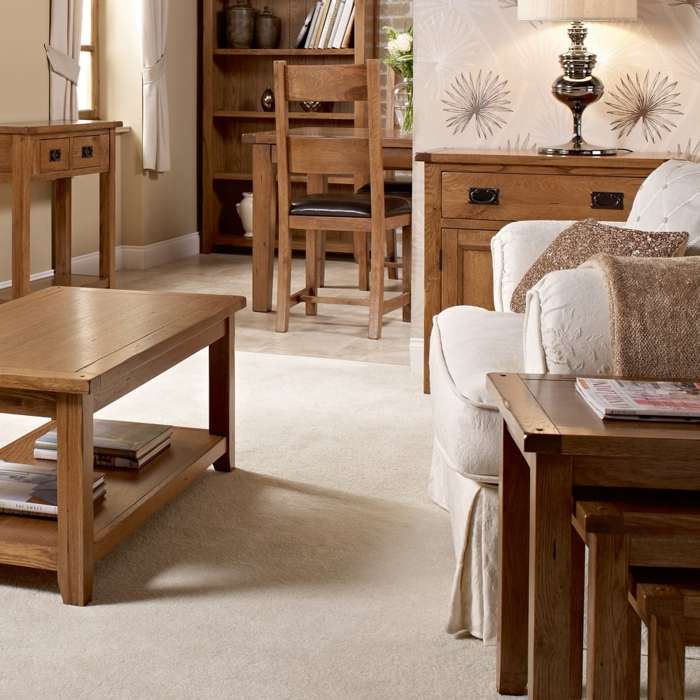 Lpd Furniture Dorset White Oak Large Sideboard Leader Stores