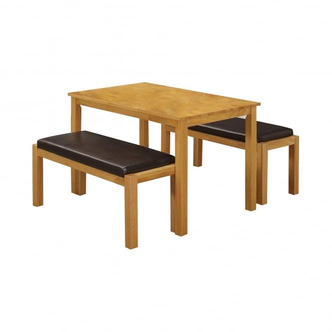 Lpd Furniture Fenton Dining Set Leader Stores