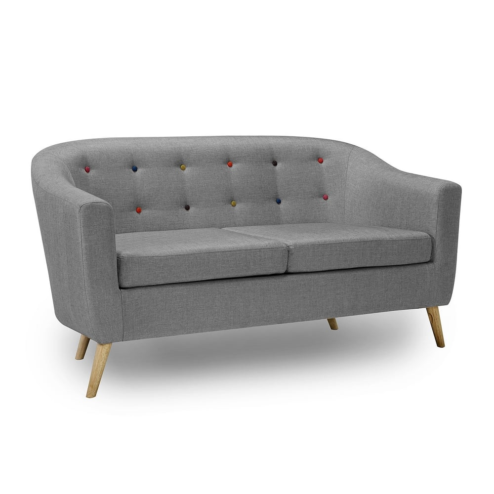 lpd furniture hudson grey sofa leader stores. Black Bedroom Furniture Sets. Home Design Ideas