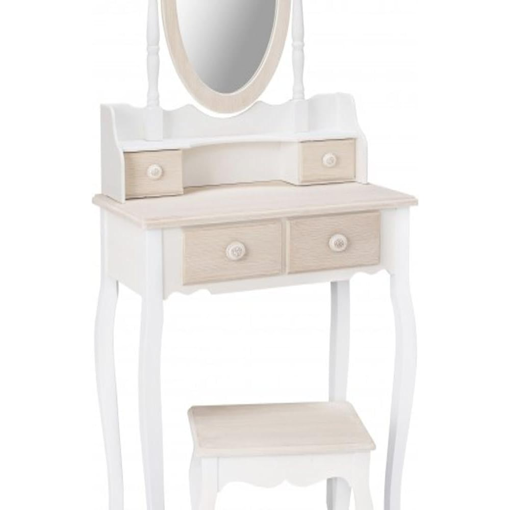 Lpd furniture juliette dressing table mirror leader stores for Home furniture dressing table
