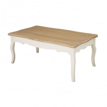 LPD Furniture Juliette Soft White Coffee Table (JULIETCOF)