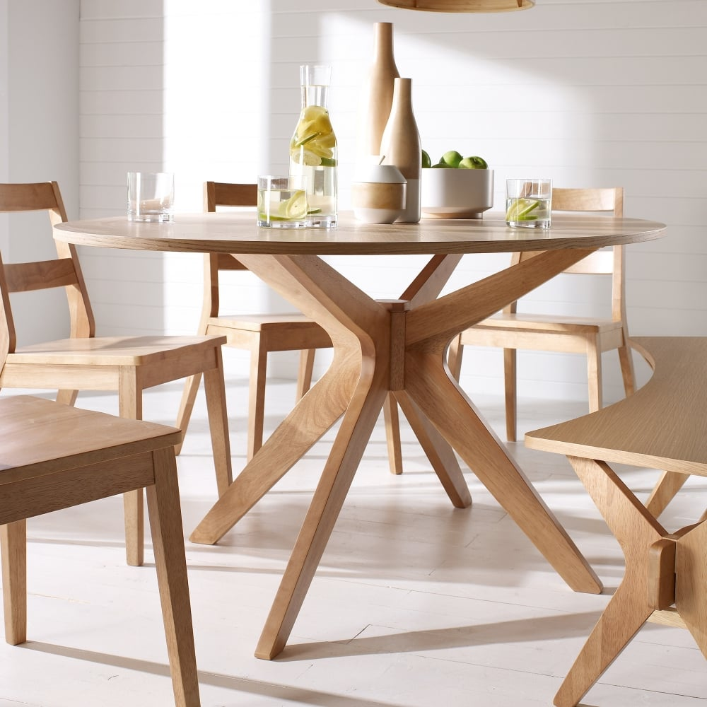 Malmo White Oak Dining Table (MALMOTAB)