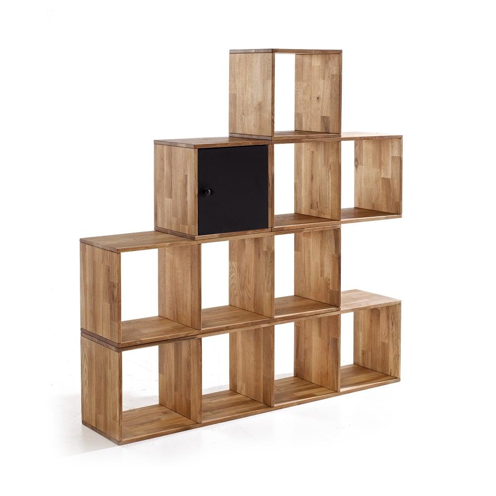 Lpd furniture maximo oak multi purpose cube max1cube for Display home furniture
