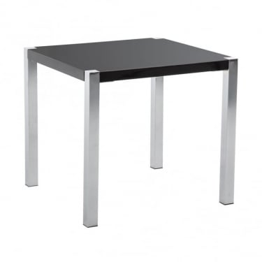 LPD Furniture Novello Black High Gloss End/Lamp Table