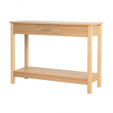 LPD Furniture Oakridge Ash Console Table