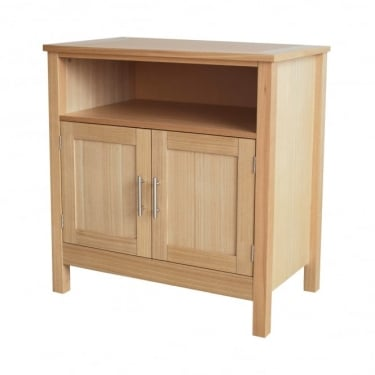 LPD Furniture Oakridge Oak 2 Door TV Unit (OAKTV)